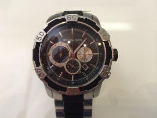 Michael Kors Mk8079 Mk 8079 Herrenuhr Chronograph Uhr Metall Bild