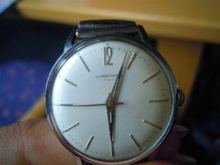 Junghans Armbanduhr 60er Oder 70er Jahre ? Man Hau Kaliber 620.  00 ? Bild