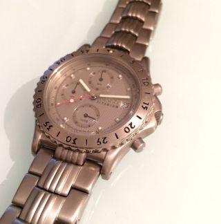 Adidas Titanium Watch 10 - 0038 Herren,  Quarz: Batterie,  Titan,  Chronograph Bild
