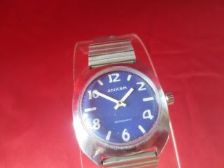 Anker Antimagnetic Vintage Herren Armbanduhr - Handaufzug - Men Watch Bild