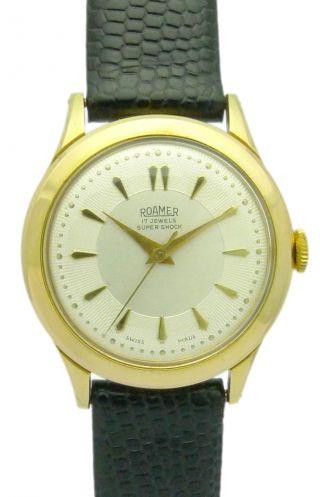 Roamer Shock DoublÈ Herren - Armbanduhr - Klassiker Aus Den 60er Jahren Bild