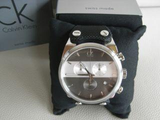 Calvin Klein Ck Eager Chronograph Herren Uhr Chrono K4b371b3 Bild