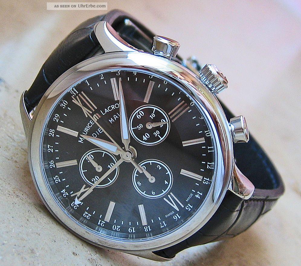 Luxusuhren Chrono Luxus Uhr Chronograph Maurice Lacroix