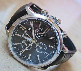 Luxusuhren Chrono Luxus Uhr Chronograph Maurice Lacroix Herrenuhr Hau Classic Bild