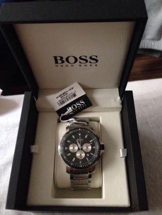Boss Hugo Boss Herren - Armbanduhr Chronograph Quarz 1512109 Bild