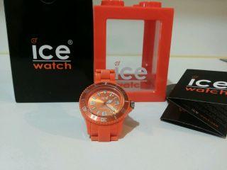Ice Watch Uhr Classic Solid Orange Big - Cs.  Oe.  B.  P.  10 Bild