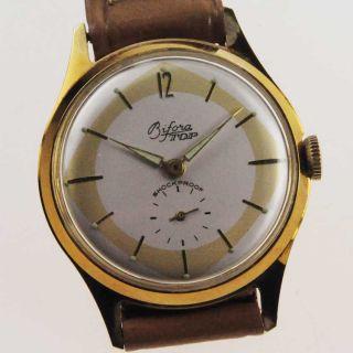 Bifora Top Art Deco Watch Damen Herren 1950 Handaufzug Lagerware Nos Vintage 88 Bild