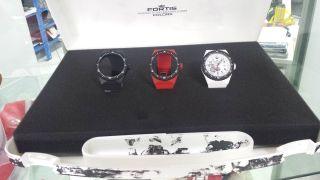 Fortis Maschinist Armbanduhr Limited Edition Koffer Nr.  98 Bild