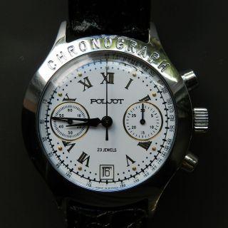 Poljot Chronograph Kaum Getragen - S2038 Bild