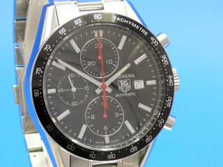 Tag Heuer Carrera Date Chronograph Cv2014 Vom Uhrencenter Berlin Bild