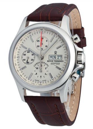 Revue Thommen Airspeed Automatic Chronograph Day Date 17081.  6532 Bild