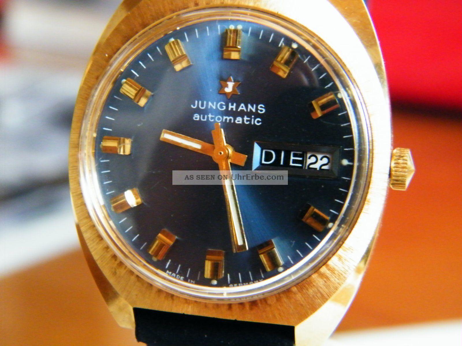 Junghans Meister Automatic Herren Uhr Armbanduhren Bild