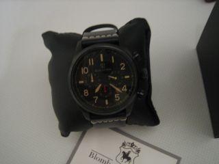 B&s Phoenix Chronograph GetÖnte Herrenuhr Ono Vd53seiko Chr Uhr Bs2713 3 Bild