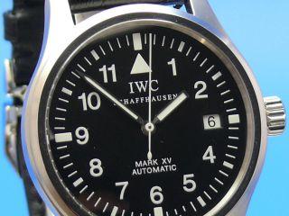Iwc Flieger Mark Xv 3253 Vom Uhrencenter Berlin Ankauf Auch Von Ihrer Luxusuhr Bild