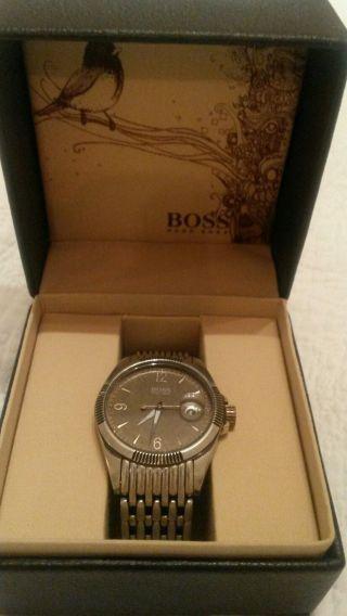 Herren Uhr Von Boss Mit Box Bild