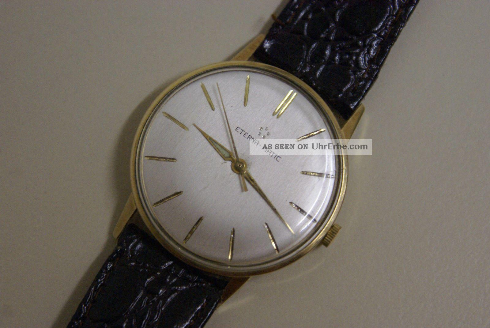 Eterna Automatic (eterna - Matic) Herrenuhr,  Läuft Sehr Gut Armbanduhren Bild