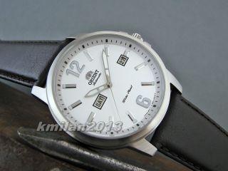 Orient Starfish Uhr Automatik Herrenuhr Tag&datum Leder Fem7j00aw9,  Fem7j00bb9 Bild