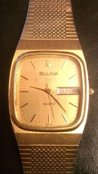 Bulova Uhr Bild