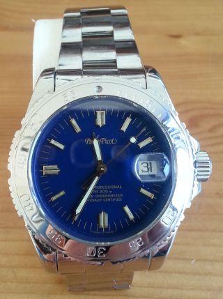 Paul Picot Mariner Ii Chronometer Incl.  Allen Zertifikaten Und Box Bild