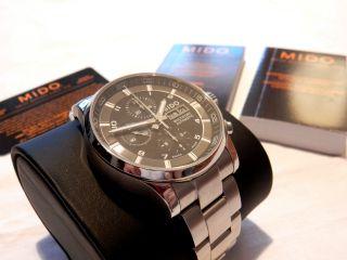 Mido Multifort Chronograph M005.  614.  11.  057.  01 Luxus Uhr Bild