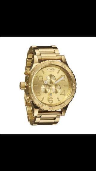Nixon 51 - 30 Chrono - Uhr - Goldfarben Bild