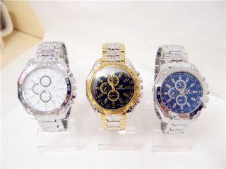 Herren Armbanduhr Orlando Edelstahl Männer Fashion Uhr Bild