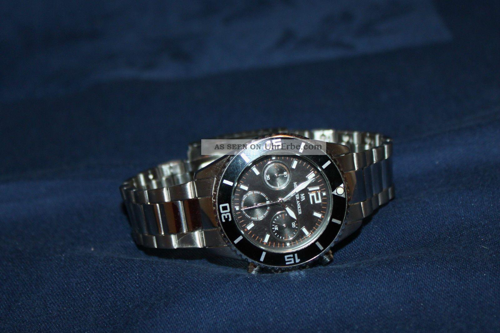 Meister Anker Chronograph Herrenuhr Armbanduhren Bild