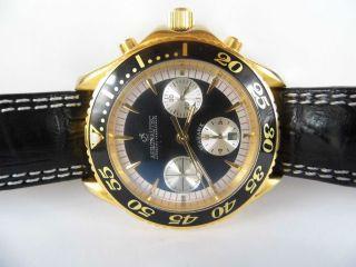 Herrenuhr Aeronautec Seahawk Automatic Chronograph Ungetragen Cal.  8850 Wie 7750 Bild