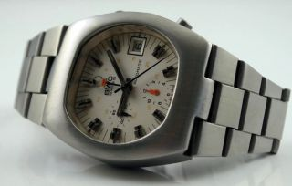 Bwc Swiss Chronoghraph Lemania 1341 / Omega Cal.  1040 - Top/mint Bild