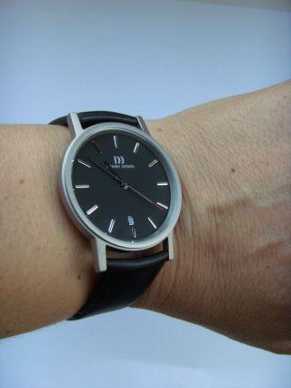 Danish Design Uhr Watch Herrenuhr 3316261 Titan Matt Dänisches Design Iq13q171 Bild