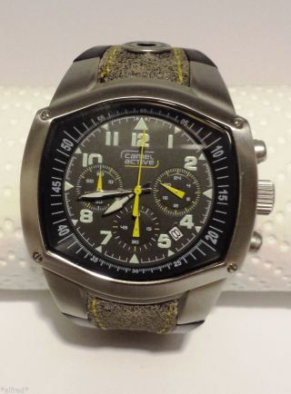 Camel Watch Armbanduhr Camel Active A796.  3772phpa Herren - Chronograph,  Uhr Bild