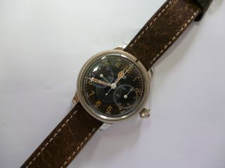 Heuer Armbandchronograph Valjoux 76 Handaufzug - - 48 Mm - Panerai Bild