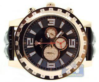 Diamant - Armbanduhr Für Herren Aqua Master Jumbo Ornament,  Gelbgold - Gehäuse Bild