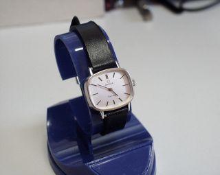 Servicesierte - Omega - Geneve - Damen - Uhr Mit Mech Werk Bild