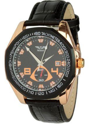 Minoir Uhren - Modell Morez,  Automatikuhr,  Tachymeter,  Datum,  Herrenuhr Bild