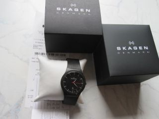 Skagen 234xxl Armbanduhr Und Unbenutzt. Bild