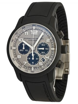 Porsche Design P6612 Dashboard Chronograph - Dlc Beschichtetes Aluminium/titan Bild