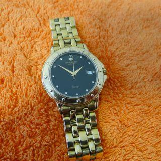 Raymond Weil Tango 5560 Herren Armbanduhr Von 1995,  18k Gp,  Uhr Bild