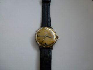 Hau Ruhla 2 Rubis Kult Uhr Aus Der Ddr,  70er.  Selten Bild