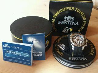 Festina Herrenuhr Chronograph 2012 In Der Box Bild