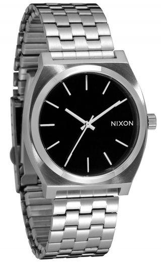 Nixon Time Teller Black Herren Uhr A045 000 Bild