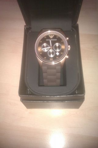 Emporio Armani Herrenuhr (watch Chronograph) Bild