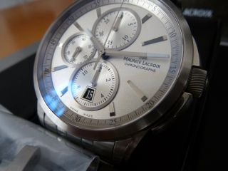 Maurice Lacroix - Pontos Automatik - Chronograph Mit,  Swiss - Made,  Wie. Bild