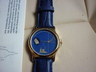 1 Dresdner Frauenkirche Armbanduhr 14.  Edition Vergoldet Bild