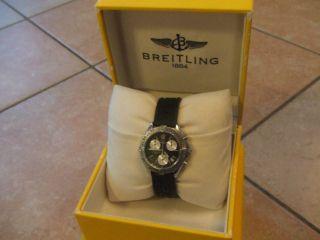 Breitling Chrono Colt Quartz Ref.  A53035,  Alle Papiere,  Box,  Umkarton,  Top Bild