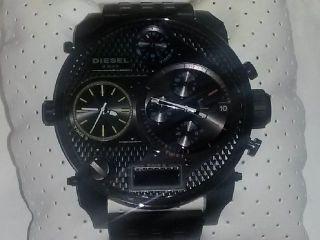 Diesel Mr.  Daddy Schwarz Armbanduhr Für Herren (dz7266) Bild