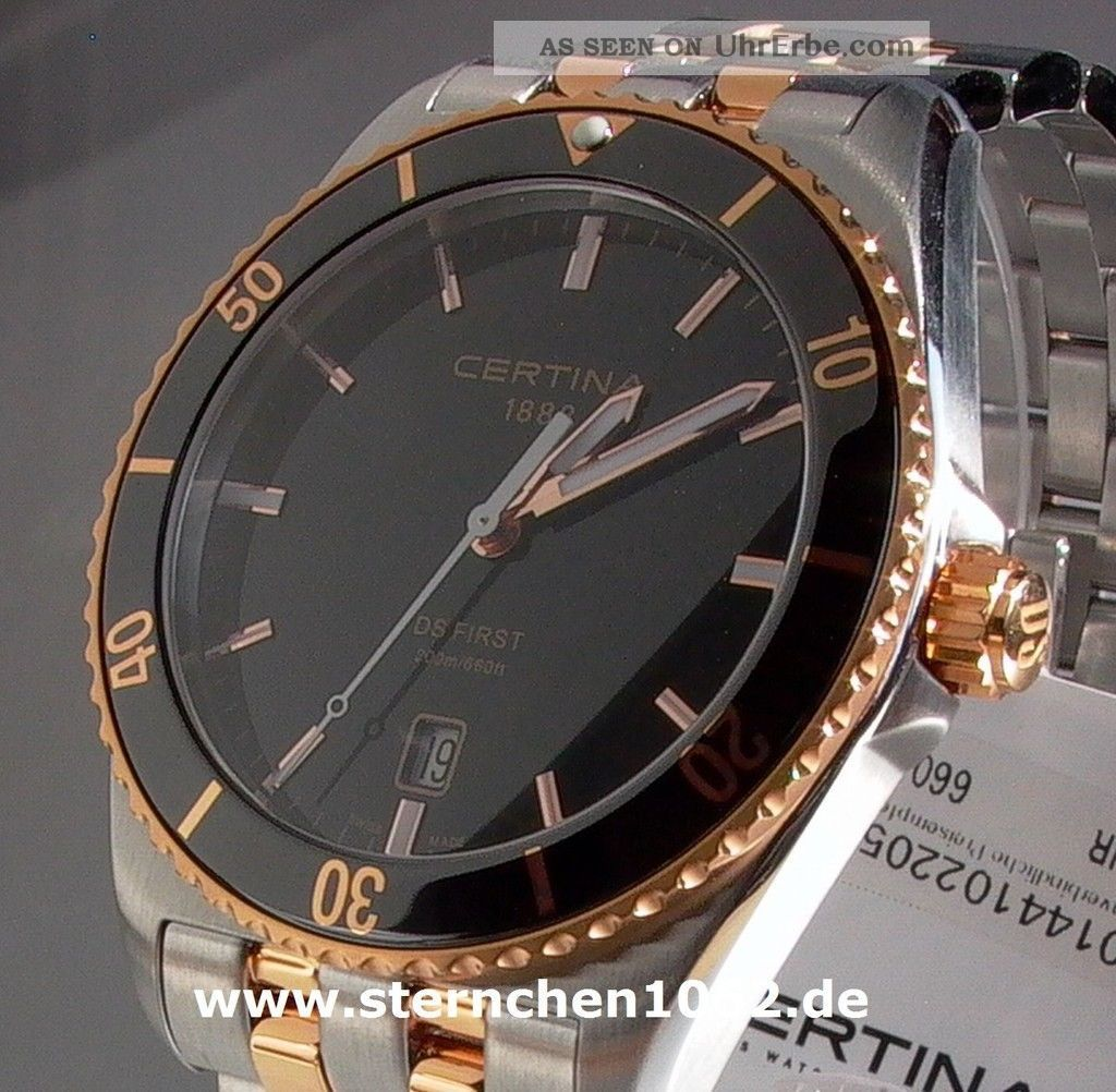 Certina Ds First Ceramic Ref.  C0144102205100 Armbanduhren Bild
