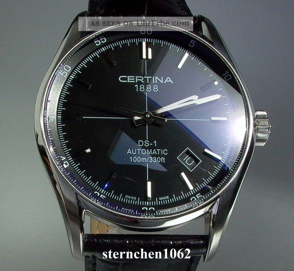 Certina Ds 1 Index Automatik Ref.  C0064071605100 Armbanduhren Bild