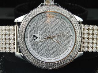 Armbanduhr Ice Mania Diamant Brauch Weiße Band Herren Im3025 Bild