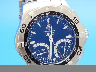 Tag Heuer Aquaracer Calibre S Regatta Caf7010 Np 2000€ Uhrenankauf 03079014692 Bild
